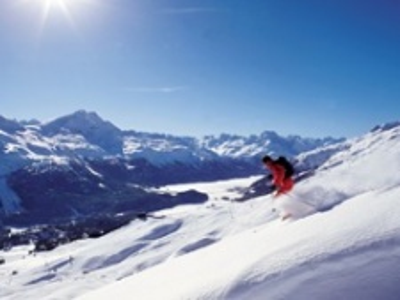 Švýcarsko - Engadin - St. Moritz