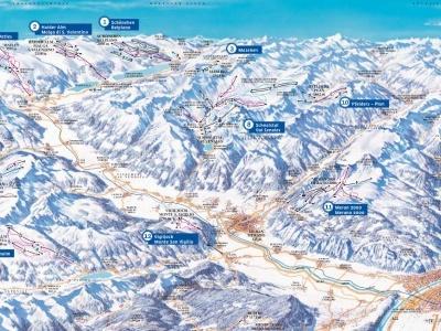 Itálie - Ortler Skiarena