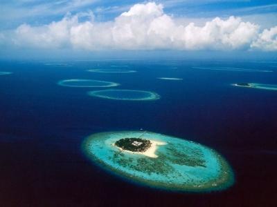 Maledivy - Male