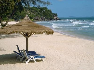 Angkor pobyt na pláži