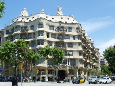 Barcelona - metropole,  letecky