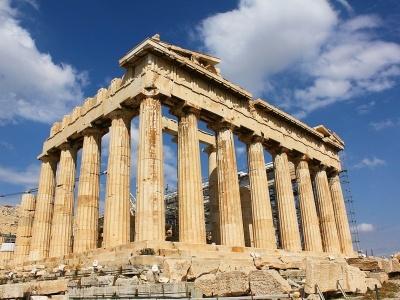 Prodloužený víkend v Aténách a koupání v moři