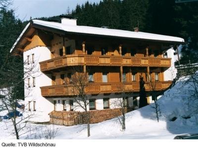 Anonymní apartmány ve Wildschönau