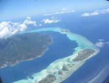 Francouzská Polynésie - Kombinace Moorea a Tahiti